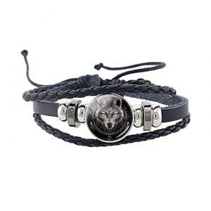 bracelet loup