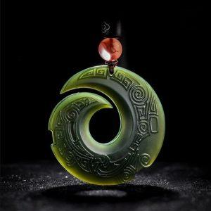 collier jade homme