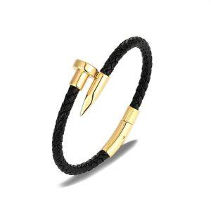 bracelet clou homme