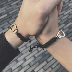 Bracelet homme menotte