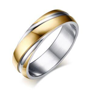 Bague de mariage homme