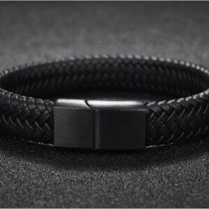 Bracelet cuir homme luxe 2