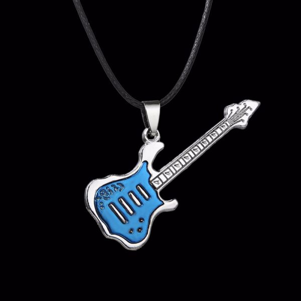 Collier guitare homme