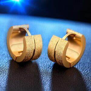 Boucle d'oreille homme luxe