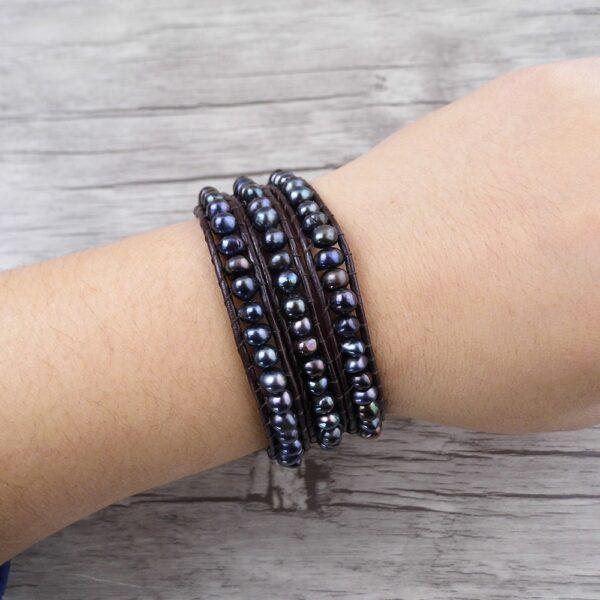 Bracelet homme perle de tahiti