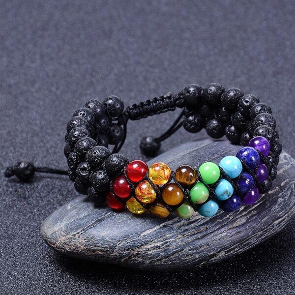 bracelet chakras homme