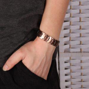 Bracelet cuivre magnétique homme