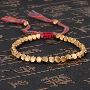 Bracelet de la chance tibetain