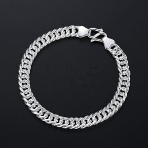 Bracelet en argent pour homme
