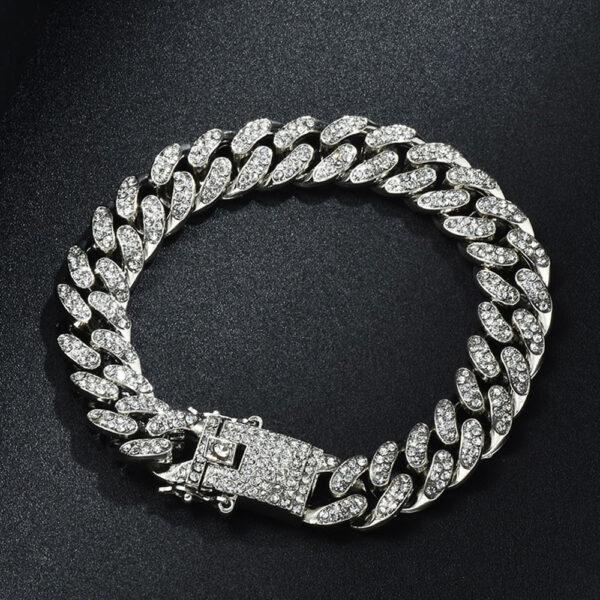 Bracelet homme diamant