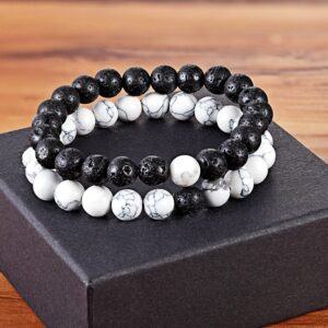 Bracelet homme pierre