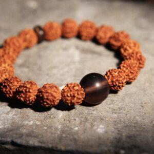 Rudraksha bracelet rakhi