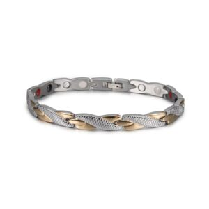 Bracelet acier inoxydable homme rose