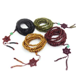 Meditation bracelet yoga 216 perles