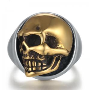 Bague skull argent