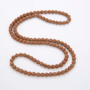 Bracelet 108 graines de rudraksha