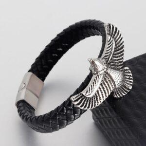 Bracelet aigle noir
