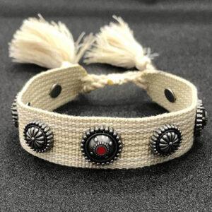 Bracelet brésilien motif indien