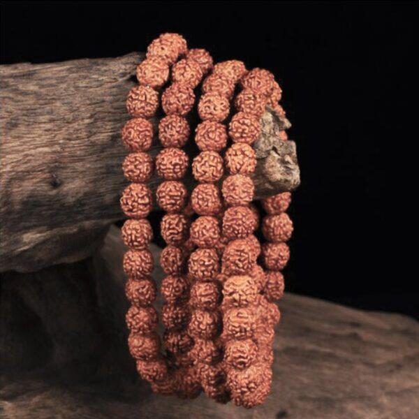 Bracelet en graine de rudraksha