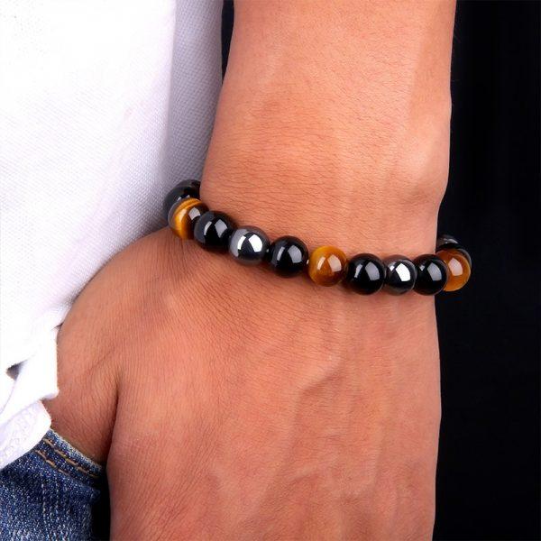 Bracelet homme pierre de protection