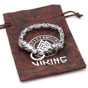 Bracelet ours viking homme