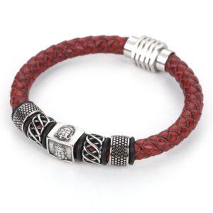 Bracelet rouge inde