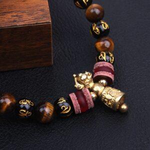 Bracelet tibétain bouddhiste mantra
