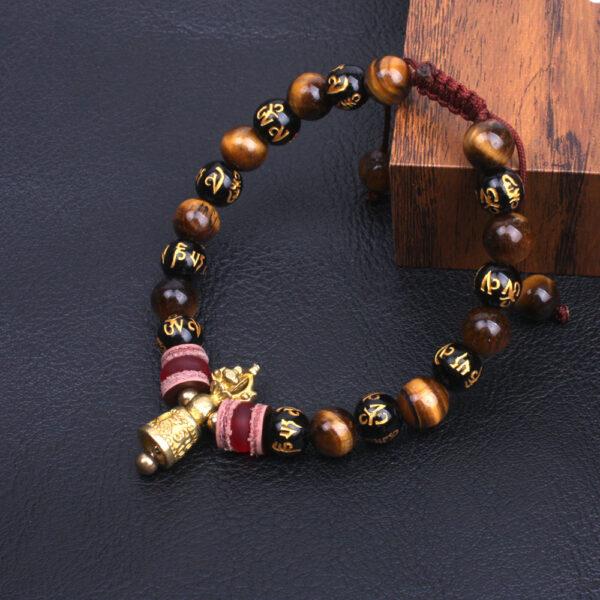 Bracelet tibétain bouddhiste mantra de grande compassion
