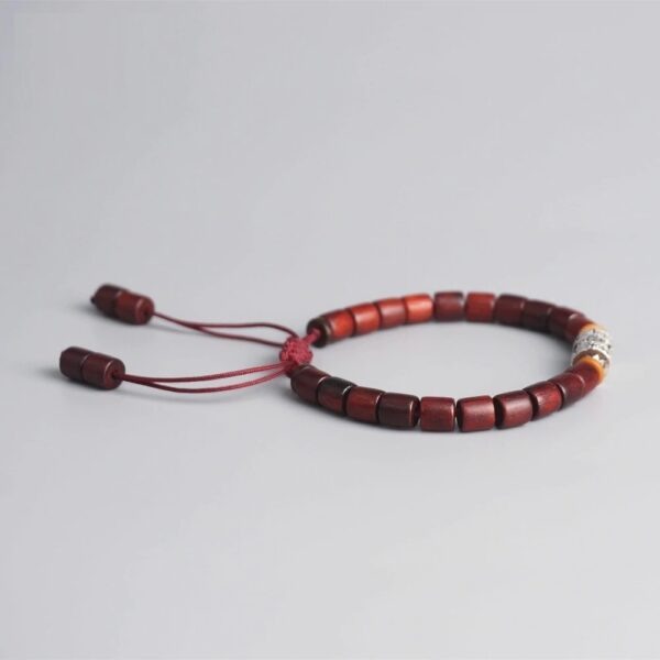 Bracelet tibétain en bois