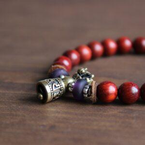 Bracelet tibétain protection cloche