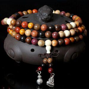 Mala tibetain bois de santal