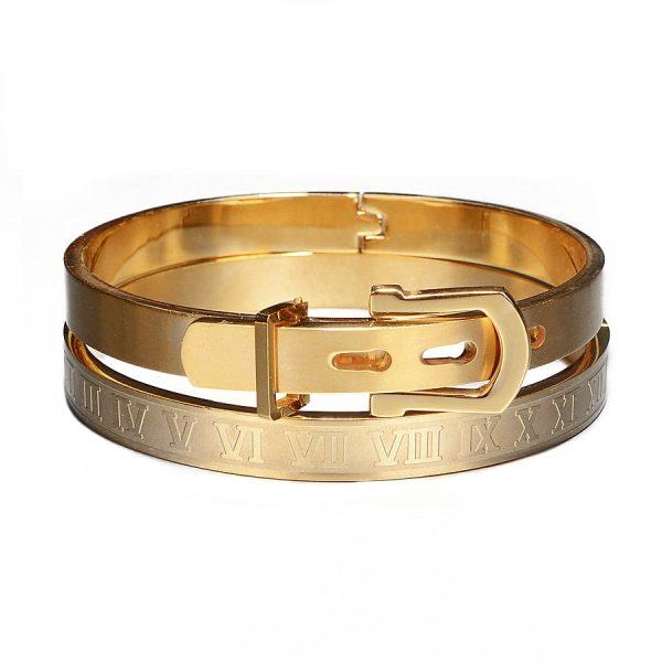 Bracelet avec chiffre romain luxe