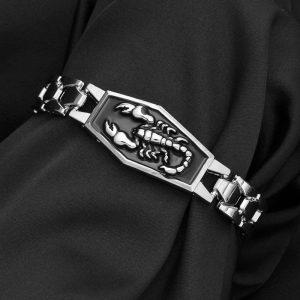 Bracelet avec scorpion