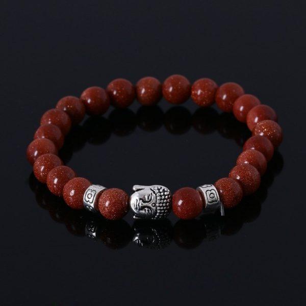 Bracelet bouddha rouge
