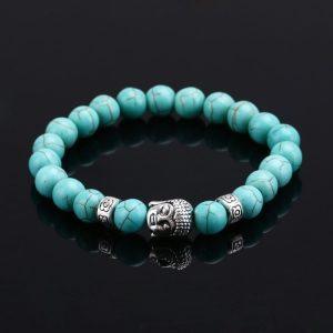 Bracelet bouddha turquoise