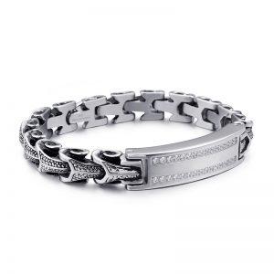 Bracelet chaine serpent
