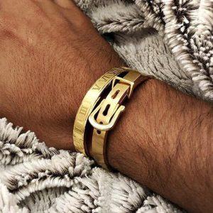 Bracelet chiffre romain luxe