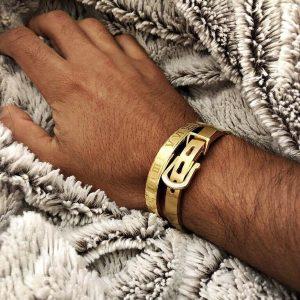 Bracelet chiffre romain style luxe