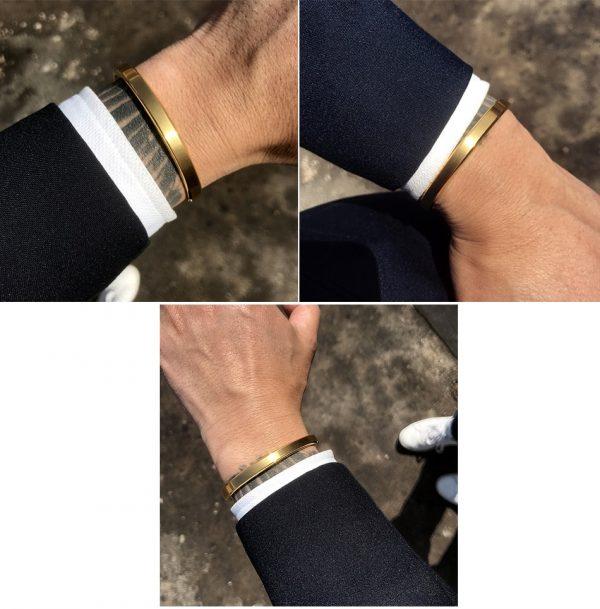 Bracelet esclave homme jonc
