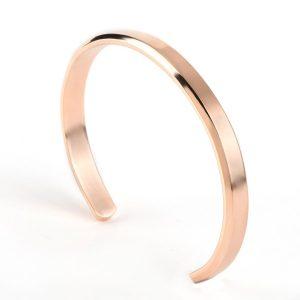 Bracelet esclave homme or rose