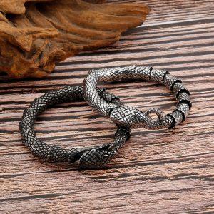 Bracelet forme serpent 2 modèles