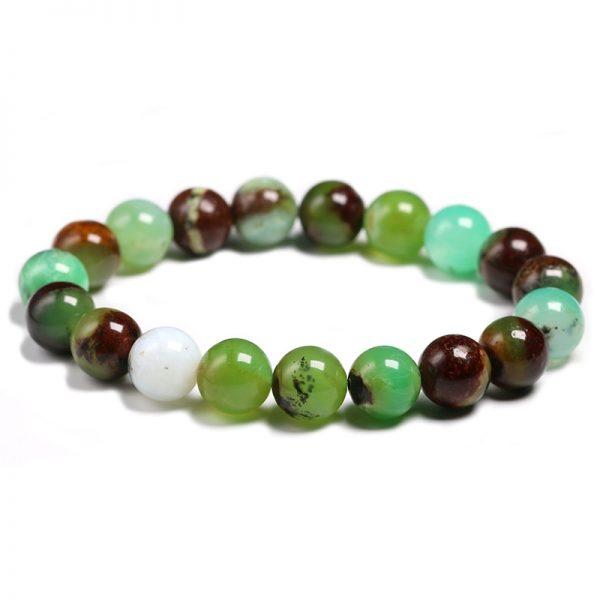 Bracelet homme pierre de jade 10mm