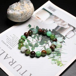 Bracelet homme pierre de jade australien
