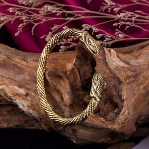 Bracelet jonc serpent