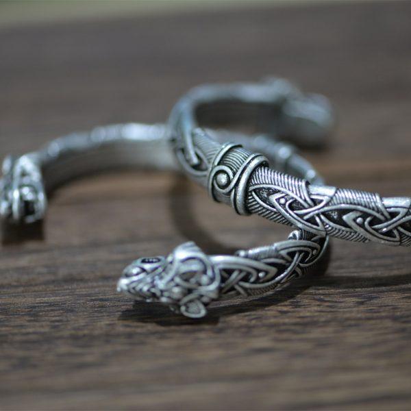 Bracelet jonc style viking