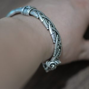 Bracelet jonc viking