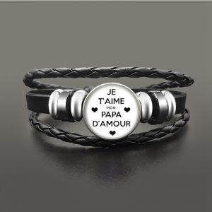 Bracelet mon papa d'amour