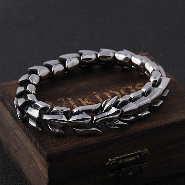 Bracelet ouroboros