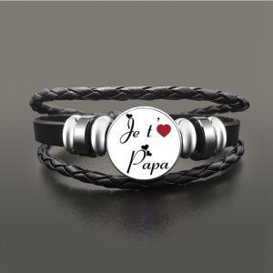 Bracelet papa je t'aime