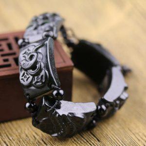 Bracelet pierre scorpion